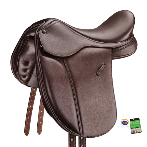 Bates Pony Show+ Saddle Luxe CAIR Long Flap EX DEMO