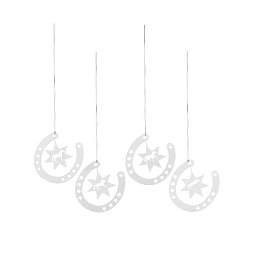 Horseshoe Christmas Hanging Ornaments
