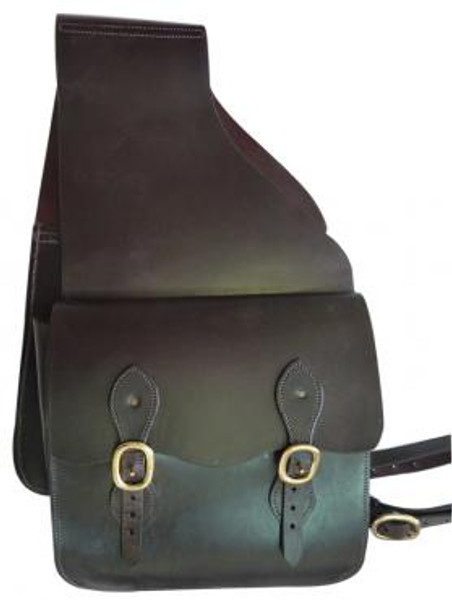 Double Leather Saddle Bag