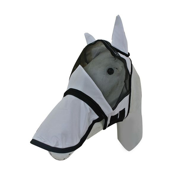 Fly Mask With Zip Off Nose