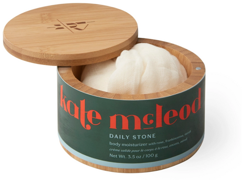 Kate McLeod Daily Stone (Reusable Bamboo Canister)