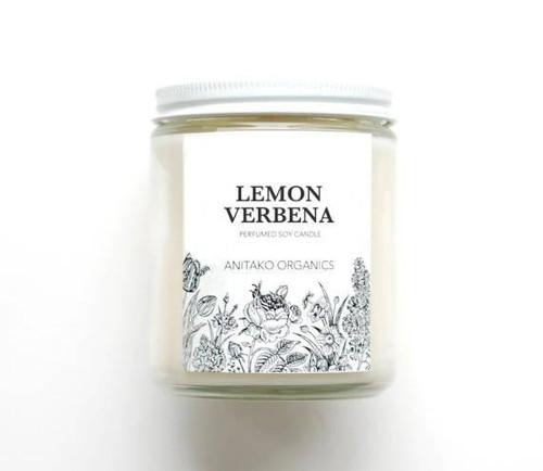 ANITAKO Organics Perfumed Soy Candle (Lemon Verbena)