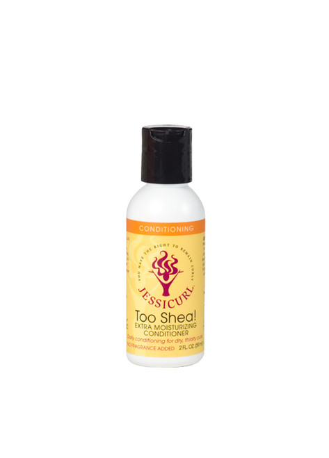 Jessicurl Too Shea Extra Moisturizing Conditioner (No Fragrance - 2oz)