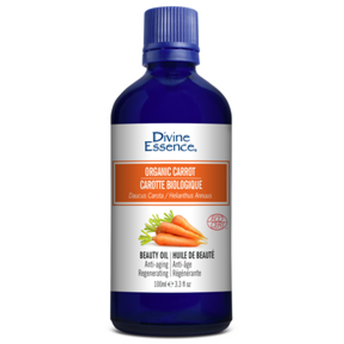 Divine Essence Organic Carrot Oil (100ml)