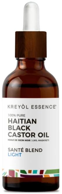 Kreyol Essence Haitian Black Castor Oil LIGHT- (Lwil Maskreti) - 3.4 oz