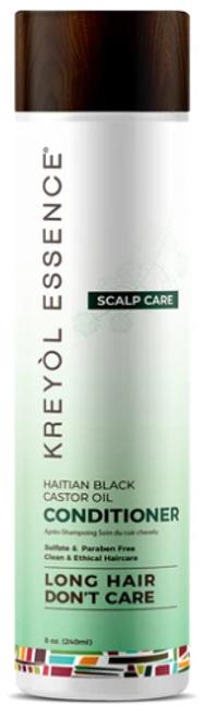 Kreyol Essence Haitian Black Castor Oil Scalp Care Conditioner (8 oz)