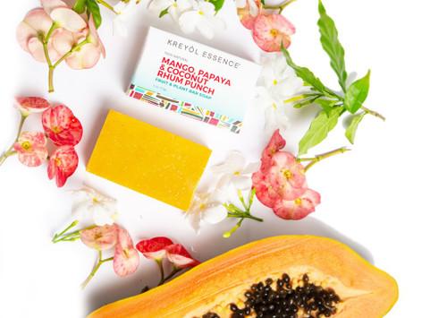 Kreyol Essence Mango, Papaya & Coconut Rhum Punch Soap Bar