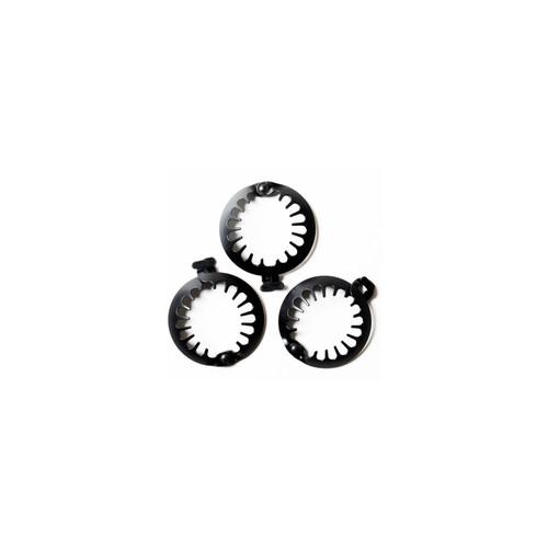 PuffCuff Mini Black - 2.5 INCH (3 PCS)