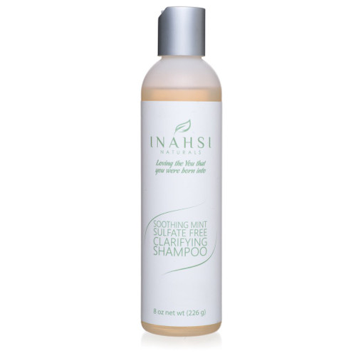 Inahsi Naturals Soothing Mint Clarifying Shampoo (8oz)