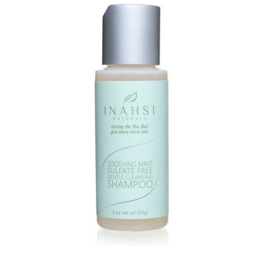 Inahsi Naturals Soothing Mint Gentle Cleansing Shampoo (2oz)