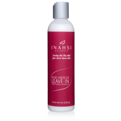Inahsi Naturals Aloe Hibiscus Leave-In Conditioner & Detangler (8oz)