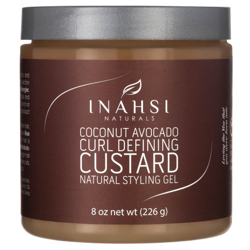 Inahsi Naturals Coconut Avocado Curl Defining Custard (8oz)