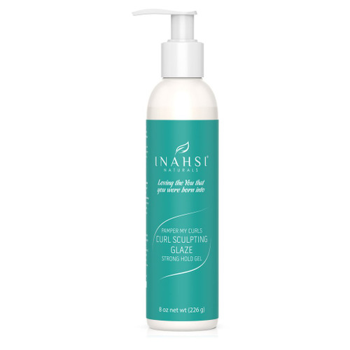 Inahsi Naturals Pamper My Curls Curl Sculpting Glaze (8oz)