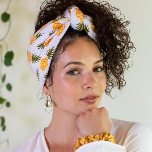 Tee-Owels T-shirt Hair Towel (Pineapple)