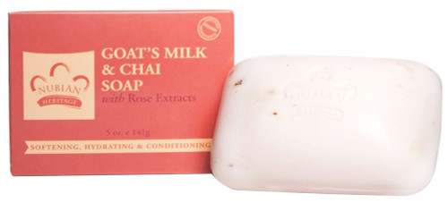 Nubian Heritage - Goat Milk and Chai Bar Soap