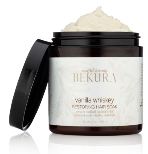 Bekura Vanilla Whiskey Restoring Hair Soak