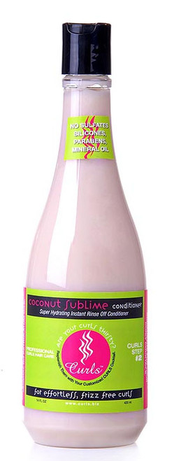 Curls Coconut Sublime Conditioner (14oz)