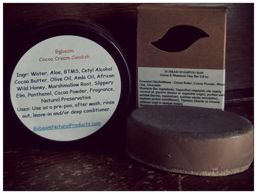 Bobeam - Cocoa Shampoo & Conditioner Hair Set!