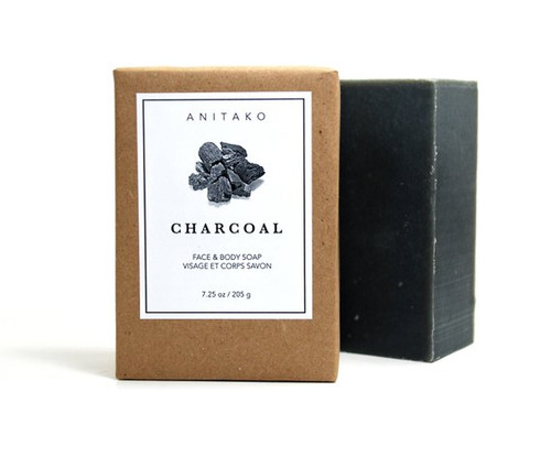 ANITAKO Organics - Activated Charcoal Soap