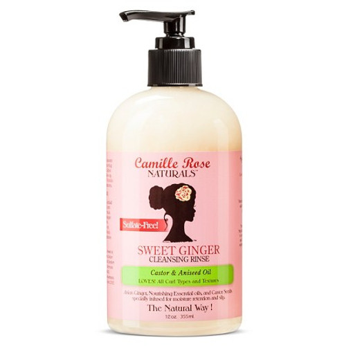 Camille Rose Naturals - Sweet Ginger Cleansing Rinse (12oz)
