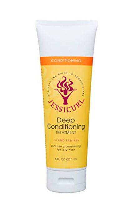 Jessicurl Deep Conditioning Treatment (Island Fantasy - 8oz)