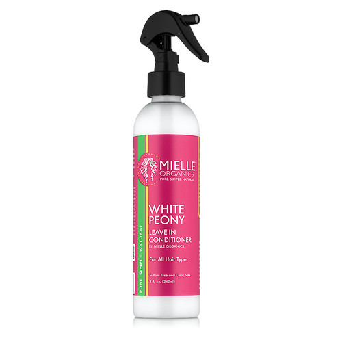 Mielle Organics Organic White Peony Leave-In Conditioner (8 oz)