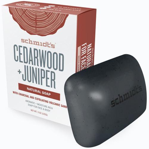 Schmidt's Naturals - Bar Soap Cedarwood + Juniper