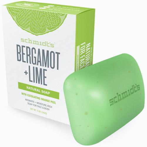 Schmidt's Naturals - Bar Soap Bergamot + Lime