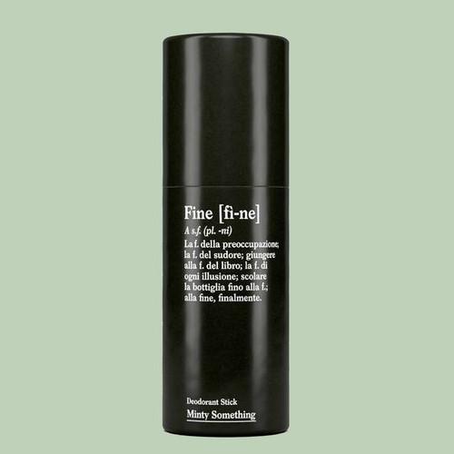 FINE Deodorant Stick Minty Something (40g Tube)