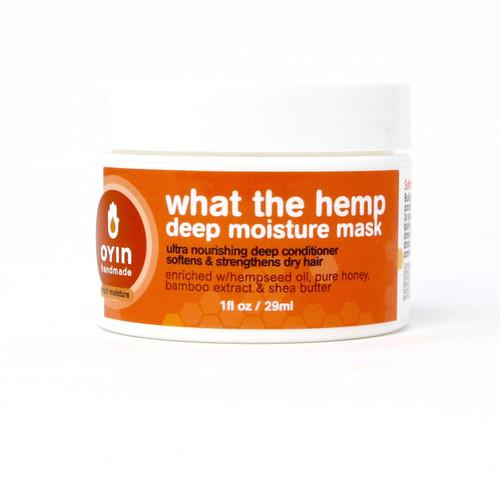 Oyin Handmade What the Hemp Deep Moisture Mask (8 oz)