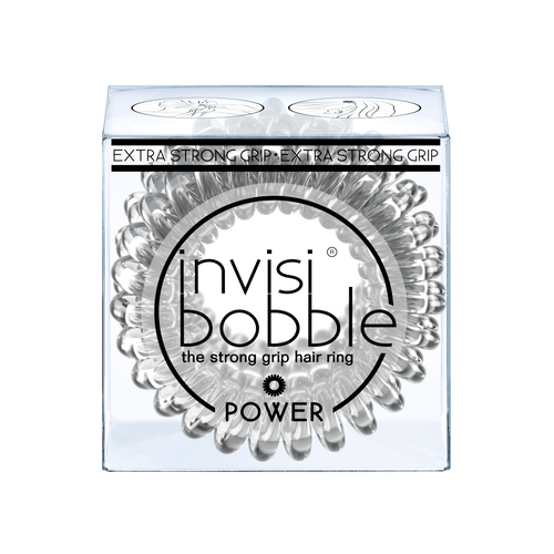 Invisibobble-POWER the strong grip hair ring (Crystal Clear)