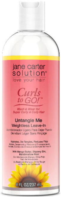 Jane Carter Solution Curl To Go Untangle Me Weightless Leave-In