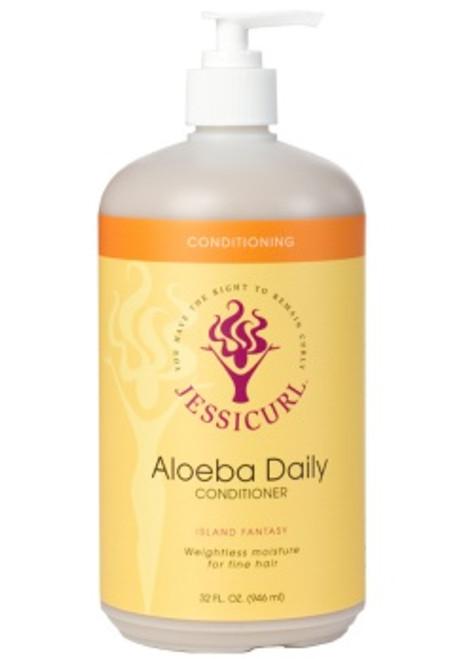 Jessicurl Aloeba Daily Conditioner (Citrus Lavender - 32oz , Gluten Free)