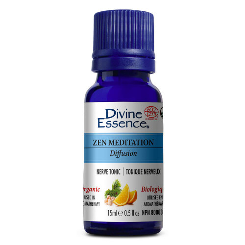 Divine Essence Essential Oil Zen Meditation Blend Organic