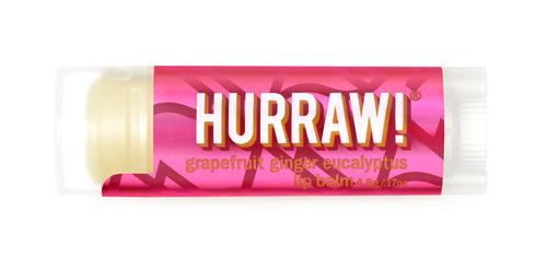Hurraw Balm - Kapha Lip Balm : grapefruit ginger eucalyptus