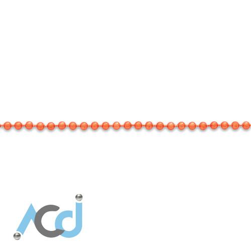 Demo: Ball Chain Citrus Orange