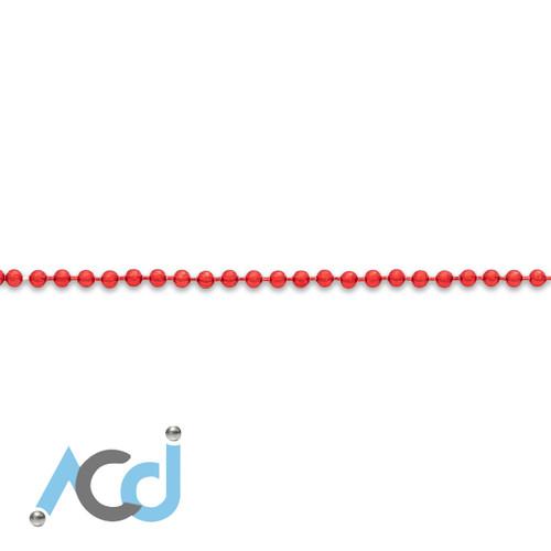 Demo: Ball Chain Strawberry Red