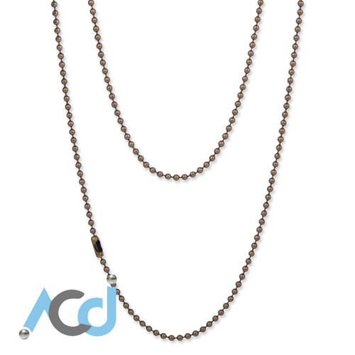 Demo: Necklace Antique Bronze