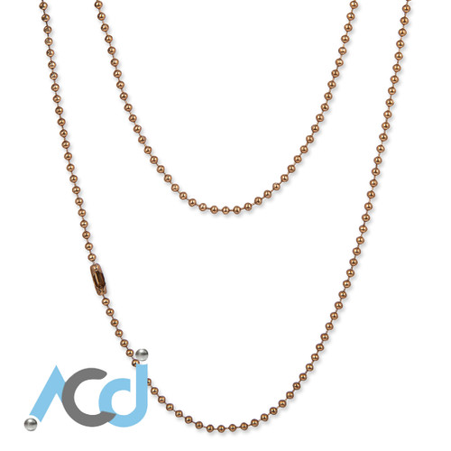 Demo: Necklace Coffee Gold
