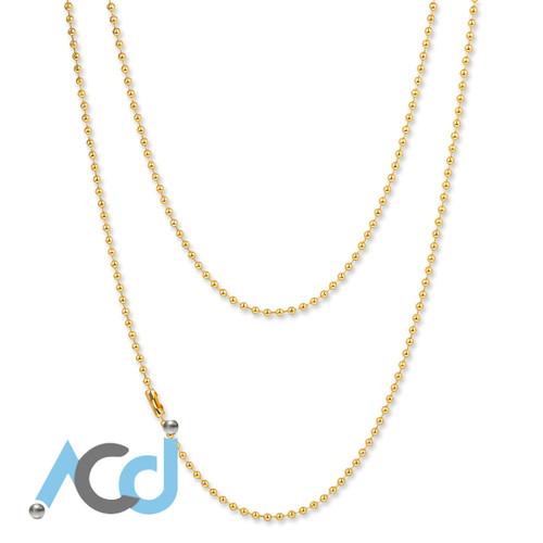Demo: Necklace Faux Gold