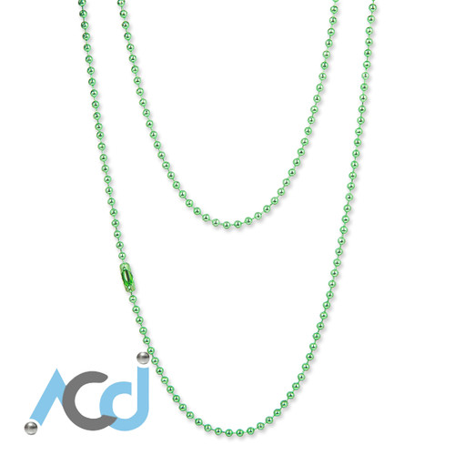Demo: Necklace Lime Green