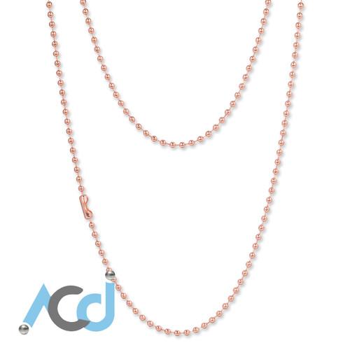 Demo: Necklace Rose Copper