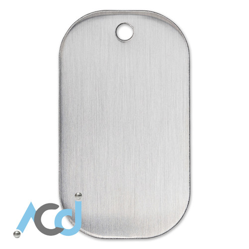 Demo: Dog Tag Stainless Steel
