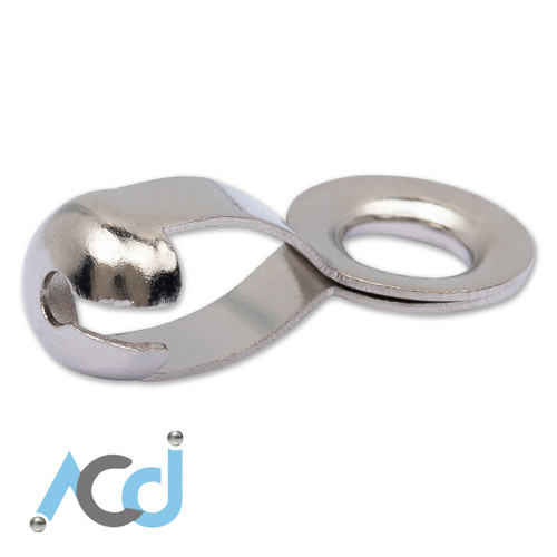 Ball Chain [2.4 to 6.5mm] Jump Coupling Connectors - Stainless Steel