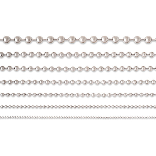Ball Chains #13 [6.5mm] - Stainless Steel