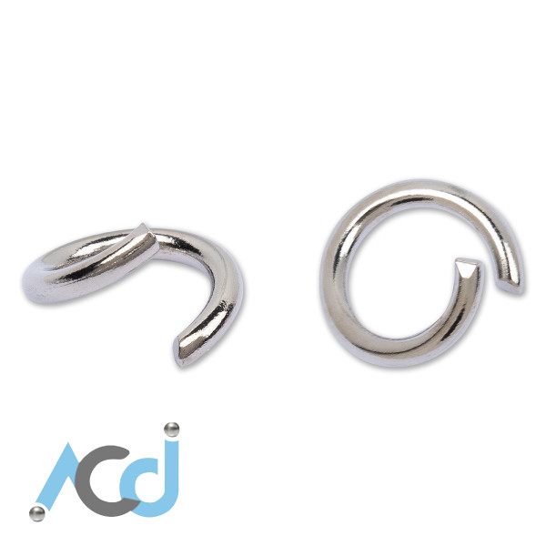 Jump Ring [6 to 12mm] - Silver Chrome