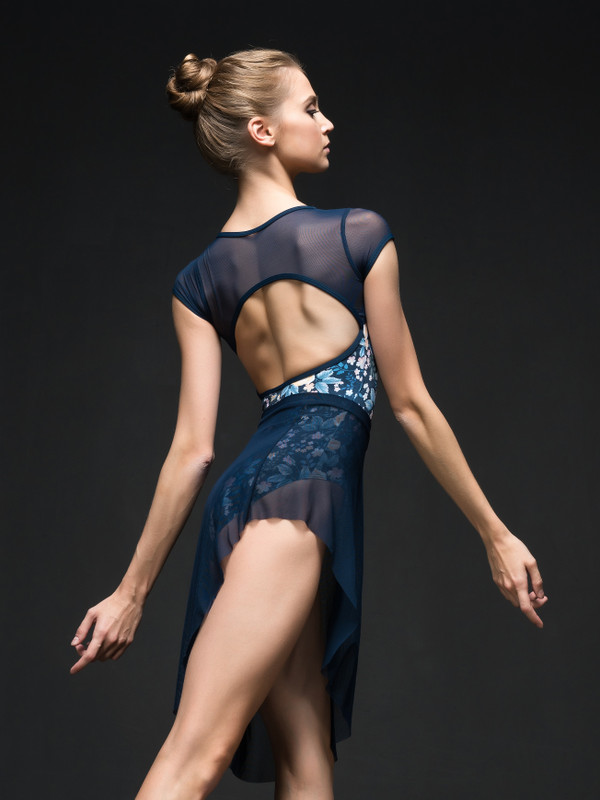 Emily Open Back Leotard