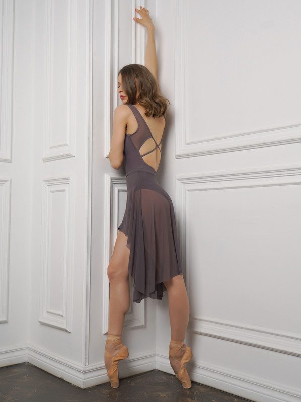 Fabiola Open Back Leotard