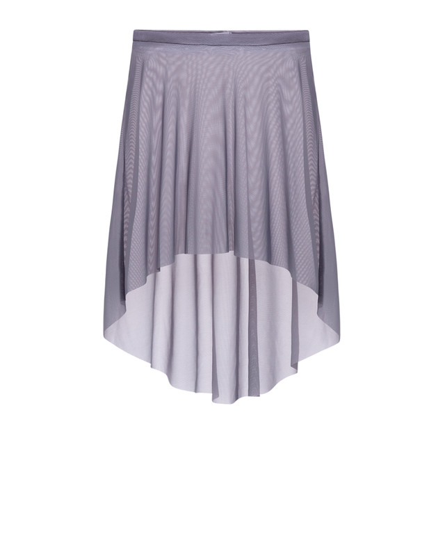 Mid High-Low Skirt