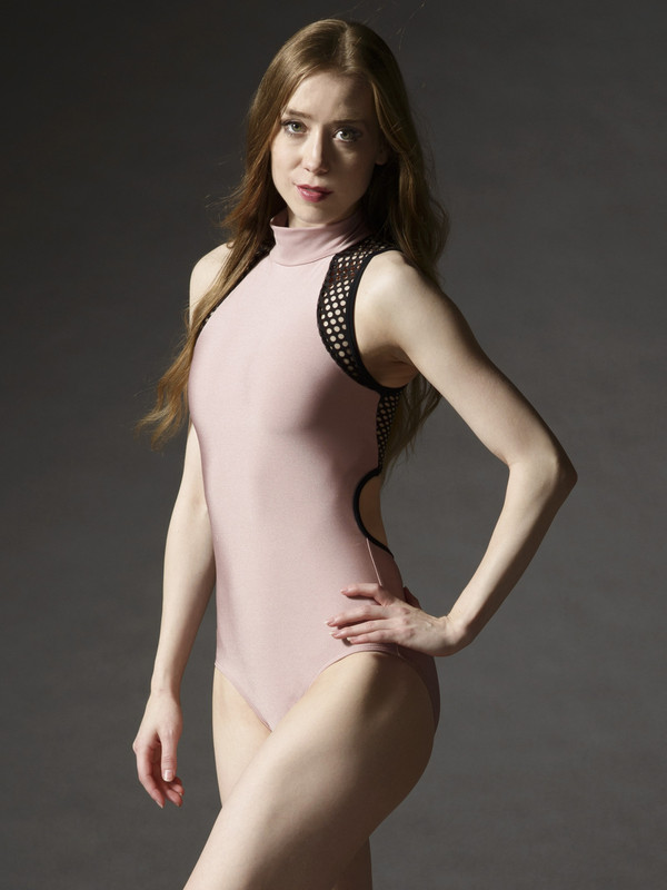 Kaleena Leotard with Back Zipper